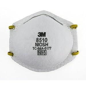(防护)防PM2.5专用3M Particulate 8510, N95 防尘口罩 带呼吸阀10包$8.81 减$5哭胖