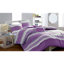 Steve Madden Skylar Comforter Set, Twin/X-Large, Magenta