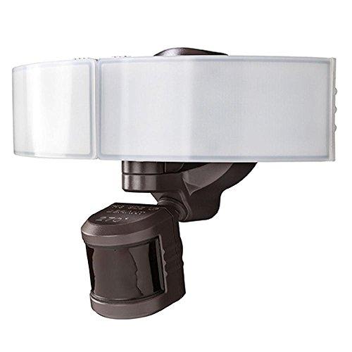 Defiant DFI-5985-BZ 270° LED Bluetooth Motion Outdoor Security Light – Bronze