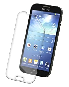 Zagg Invisible SHIELD HD Screen Protector Guard Film for Samsung Galaxy S4 (Front Screen Scratch Protector)