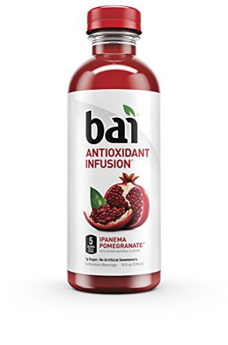 g Sugar, Antioxidant Infused Beverage, 18