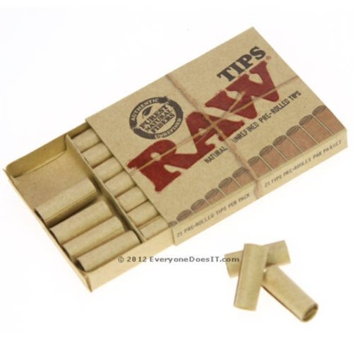 raw-natural-unrefined-pre-rolled-tips-1-pack21-tips-by-trendz
