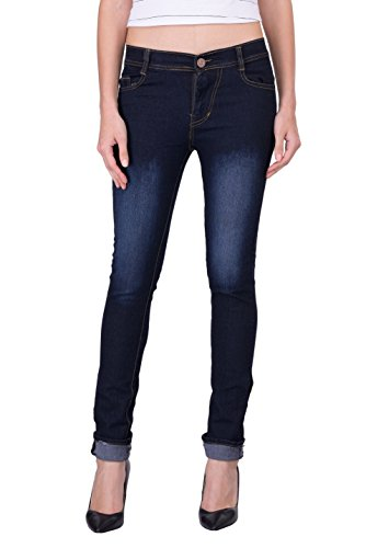 London-Looks-Womens-Slim-Fit-Jeans