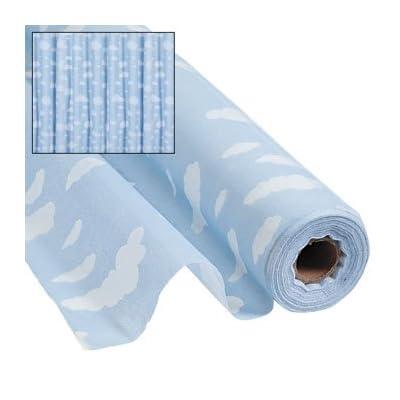 Cloud Print Gossamer Roll 100 FT X 3 FT Wedding Aisle Decoration Table