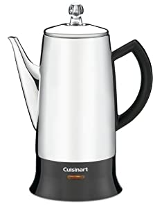 Factory-Reconditioned Cuisinart PRC-12FR Classic Stainless Percolator, Stainless Steel by Cuisinart