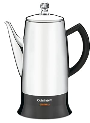 Cuisinart PRC-12FR Classic Stainless Percolator, Stainless Steel