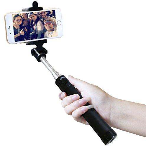 2016 new version gogogu selfie stick extendable selfie handheld stick monopod with. Black Bedroom Furniture Sets. Home Design Ideas