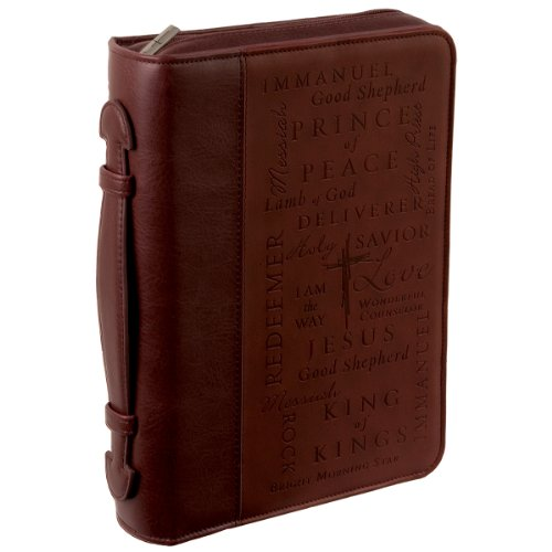 Names of Jesus Large Two-tone Bible / Book Cover