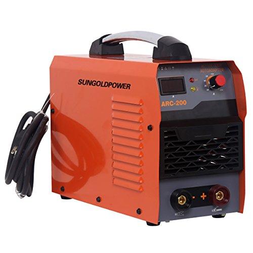 Buy Bargain SUNGOLDPOWER Digital Display LCD IGBT ARC Welding Machine DC Inverter Welder MMA ARC ZX7...