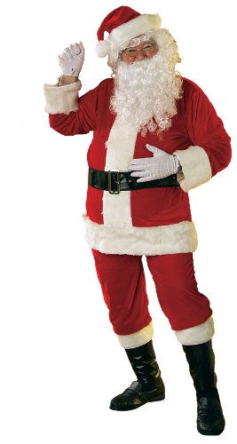 Rubie's Costume Soft Velour Santa Suit