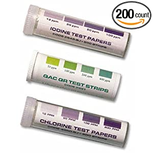 Amazon.com: LaMotte Test Strips, Chlorine 200/PK: Industrial
