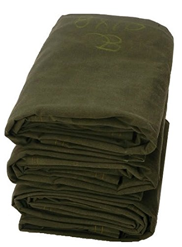 Check Out This 12' x 24' Olive Drab 16 oz Canvas Tarpaulin