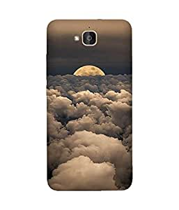 Cloud And Moon Huawei Honour 6 Plus Case