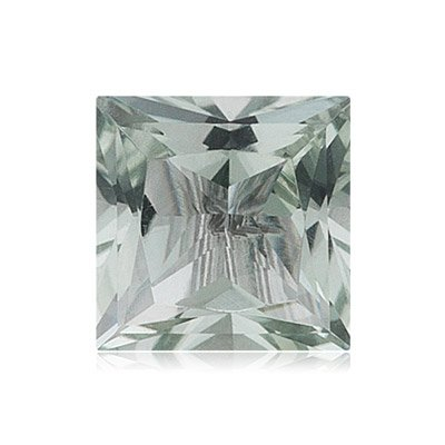 4.04-4.10 Cts of 10 mm AA Square Princess Green Amethyst ( 1 pc ) Loose Gemstone