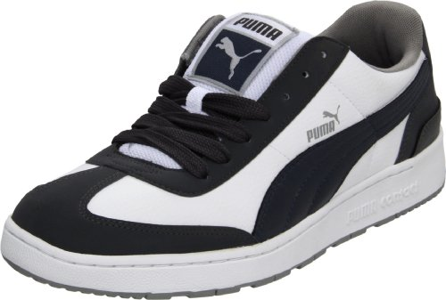 Puma Men's Arrow Fs II Fashion Sneaker,White/Dark Shadow/New Navy,11.5 D US