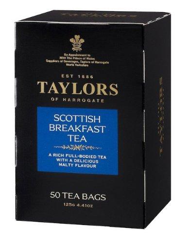 Taylors of Harrogate Scottish Breakfast Tea- 50 Teabags