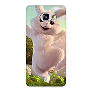 Ajay Enterprises Powerful Bunny Funny Back Case Cover for Galaxy A5 2016