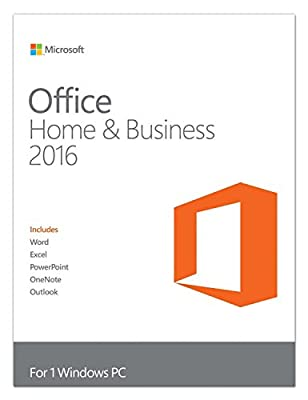 Microsoft T5D-02375 Office Home and Business 2016 - Box pack - 1 PC - medialess - Win - English - North America