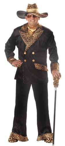 Big Daddy Dolla's Adult Plus Costume