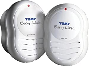 tomy baby link plug in baby monitor baby. Black Bedroom Furniture Sets. Home Design Ideas