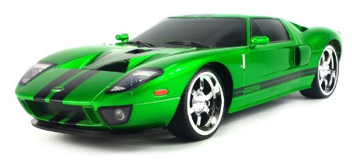 Licensed Ford Gt Electric Rc Car Big 1:10 Scale X Street Ready To Run, Muscle Car, Supercar (Colors May Vary)