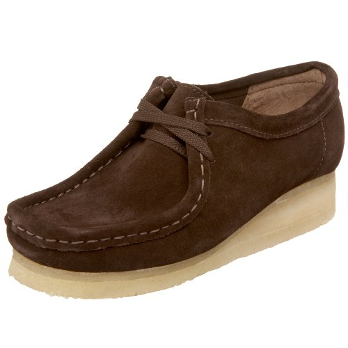 Clarks Originals Women's Wallabee Boot,Chocolate,9.5 M US