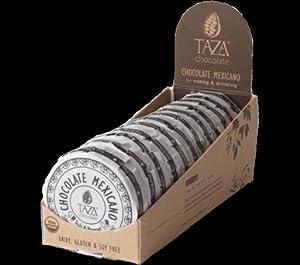 Taza Organic Chocolate Discs - Salt and Pepper (Pack of 12)