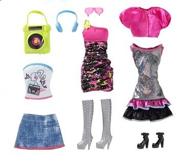 Barbie Night Looks Clothes - Music Night Out Fashions