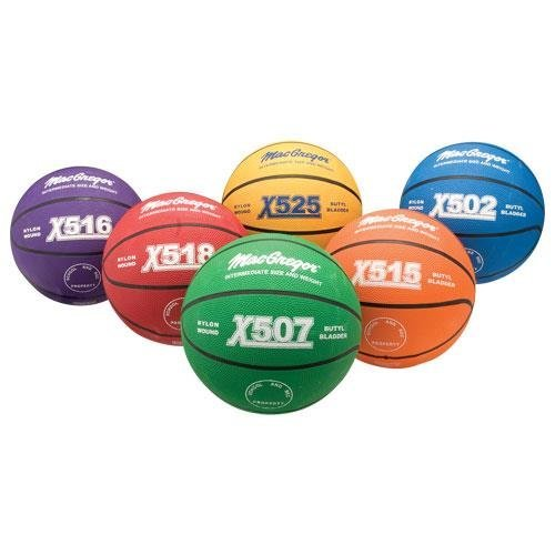 6-Pc Basketball Prism Pack Intermediate Size Prism Pack by MacGregor
