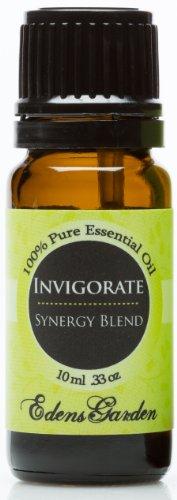 Invigorate Synergy Blend Essential Oil- 10 Ml (Sandalwood, Black Pepper & Lemon)