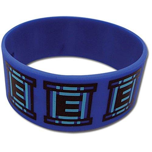 [Megaman Men's 10 Etank Anime Wristband One Size] (Adult Megaman Costumes)