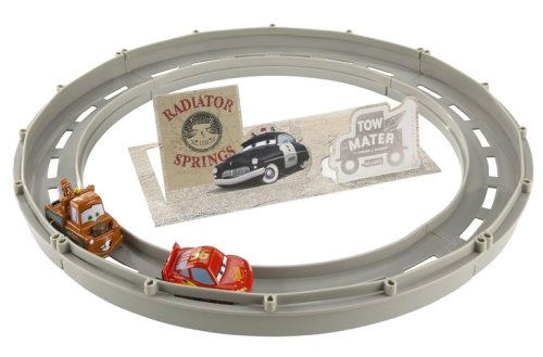 Disney Pixar Cars Race and Chase Radiator Springs Track Set - Buy Disney Pixar Cars Race and Chase Radiator Springs Track Set - Purchase Disney Pixar Cars Race and Chase Radiator Springs Track Set (Mattel, Toys & Games,Categories,Play Vehicles,Vehicle Playsets)