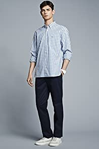 L/s Gingham Poplin Woven Shirt