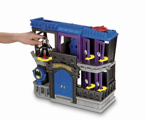 Fisher Price Batman Toys : Imaginext batman gotham city jail « pocket money toys