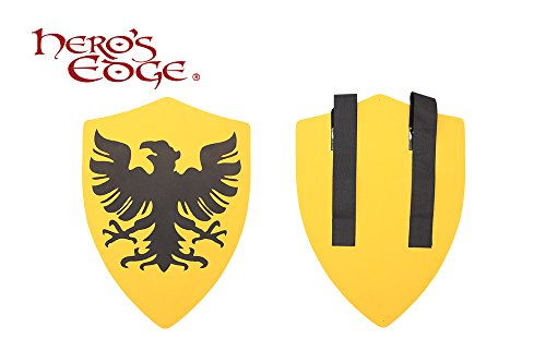 Medieval Crusader Egle Foam Shield for Cosplay and Larp (Medieval Foam Larp Shield)