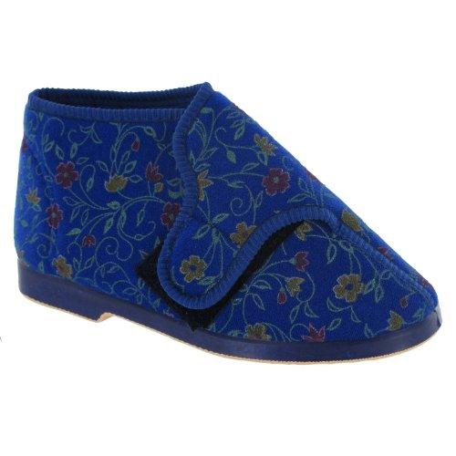 Cheap GBS Bella Ladies Wide Fit Slipper / Womens Slippers (B009BFN8YK)