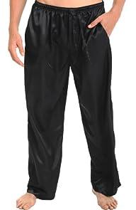 Del Rossa Men's Classic Satin Pajama…
