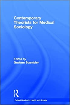 medical sociology To fulfill the requirements for the master of arts in public sociology, medical sociology specialization, you must successfully: complete program coursework of 30.