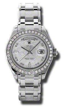 Rolex Day-Date Masterpiece Meteorite Automatic Platinum Pearlmaster Ladies Watch 18946MTPM