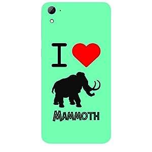Skin4gadgets I love Mammoth Colour - Sea Blue Phone Skin for HTC DESIRE 826 W