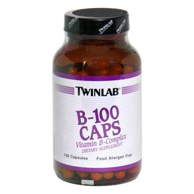 Twinlab B-100 Caps - 100 Capsules