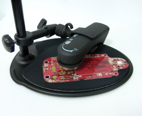 Vitiny Um02 Handheld Usb Digital Microscope With Steel Stand And Measurement Function