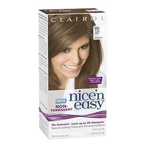 clairol nice n easy non permanent hair color 90 dark ash