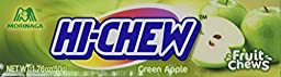 Hi Chew Fruit Chews Individually-Wrapped Candies 1.76 Oz Bar - Green Apple (1.76 ounce)