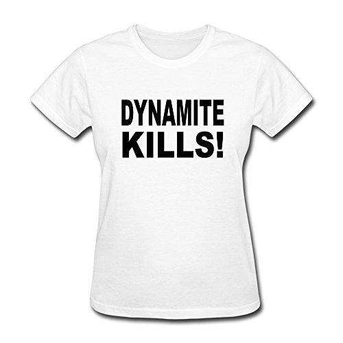 Fashion Dynamite Kills Girls' T Shirt Short Sleeve front-19595