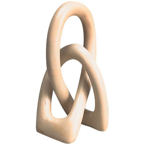 Interlocking Loops Kisii Stone Sculpture 'Unity Sculpture'