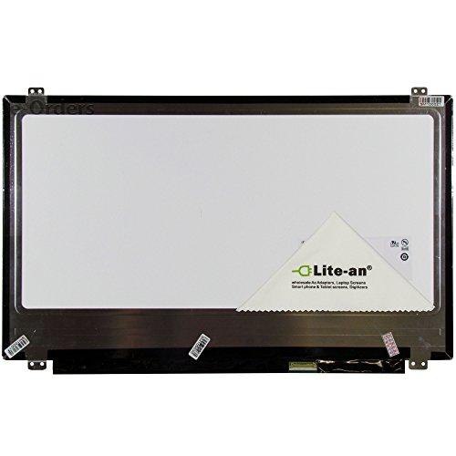 """39,62 cm (15,6"""") di ricambio per schermo LCD a LED per Acer Aspire Acer Aspire E 5-521 Series 5-521-844N e 5-521-83CV e 5-521-48KN e 5-521-476Z e 5-521-254P e 5-521-24PQ e 5-521-23KH e 5-521-25P9 e 5-521-263A e 5-521-26EM e 5-521-266E» comprende Lite-® dispone di un marchio di alta qualità e panno per lo schermo, stilo """""""