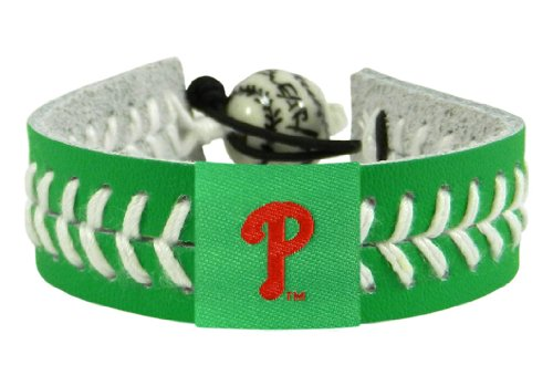 MLB Philadelphia Phillies St. Patrick's Day Baseball Bracelet at Amazon.com
