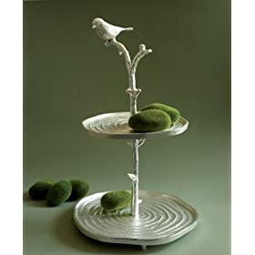 Birds on Branch Cake Stand