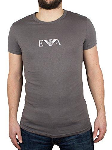 Emporio Armani Uomo Centre Logo T-Shirt, Grigio, Large